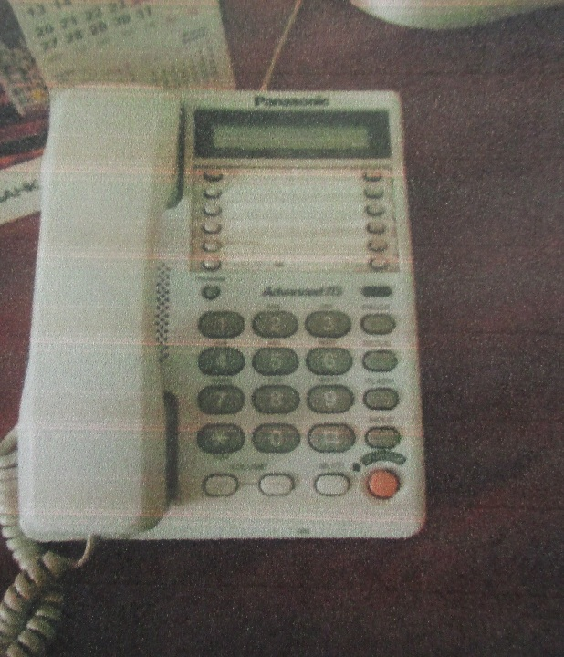 Телефон Panassonic білого кольору - 1 шт.