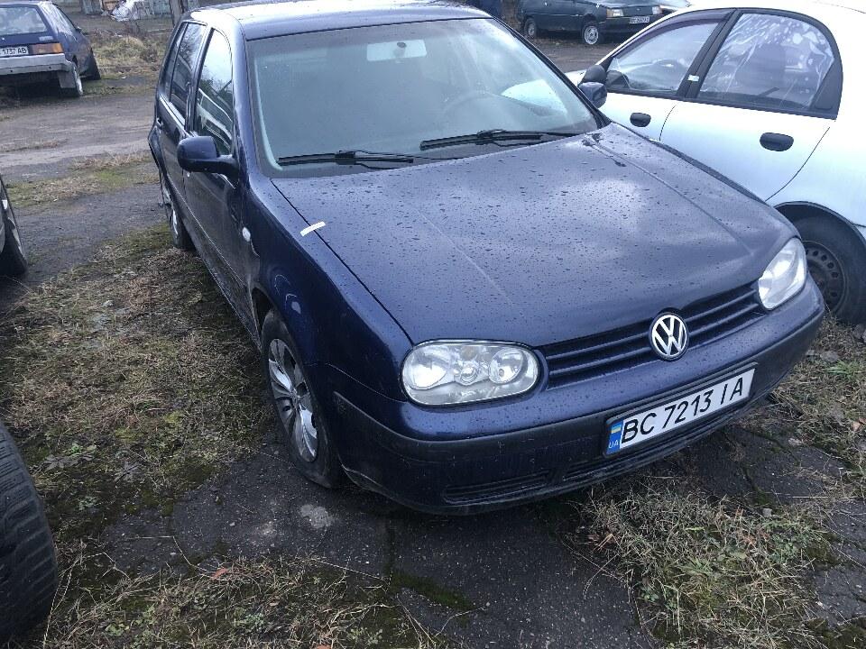 Транспортний засіб марки Volkswagen, модель Golf, 2002 року випуску, синього кольору, ДНЗ: ВС7213ІА, №куз. WVWZZZ1JZ2W459417, об'єм двигуна - 1595 см. куб., бензин
