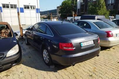 Транспортний засіб марки AUDI, модель А6, реєстраційний номер СЕ0346СA, номер кузова WAUZZZ4F67N124221, 2007 року випуску