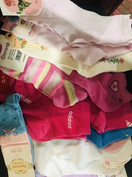 Шкарпетки жіночі 50 пар, нові,  розміру: 22-25
