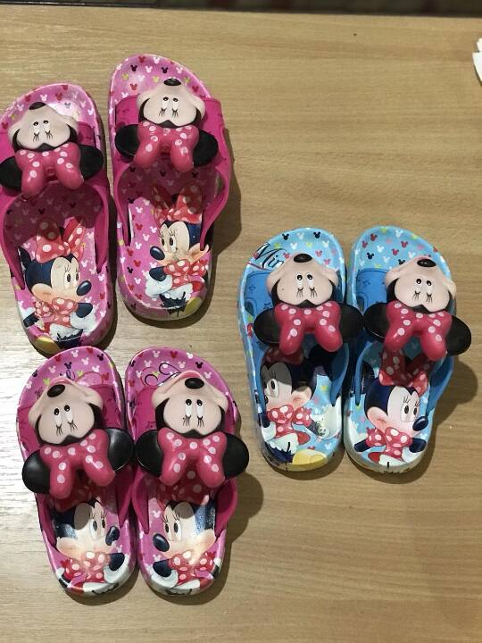 Капці дитячі, рожевого кольору,, розмір - 25, 1 шт.., розимір-31, 1 шт., стан: новий
