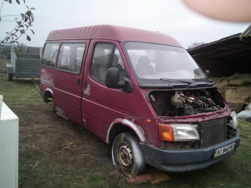 Автомобіль FORD TRANZIT,1997 р.в., д.н.з. АС8663АО, кузов № WFOLXXGBVLLVM43336