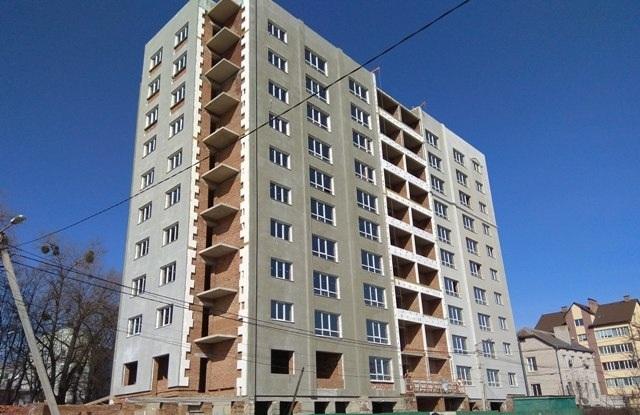 Незавершене будівництво, багатоповерховий 87-квартирний житловий будинок з вбудовано-прибудованими приміщеннями магазинів, СПА-салону, салону-перукарні та тренажерних залів, готовністю 2,71 %, за адресою м. Хмельницький, вул. Козацька, буд. 40