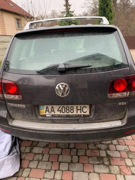 Транспортний засіб Volkswagen TOUAREG, 2007 року випуску, ДНЗ: АA4088HC, номер кузова: WVGZZZ7LZ8Z000681