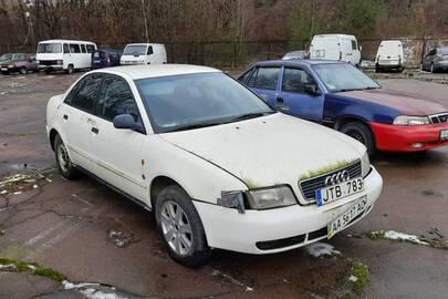 Легковий автомобіль AUDI А4, WAUZZZ8DZSA074709, 1995 рік випуску, білого кольору, ДНЗ АА5617АО