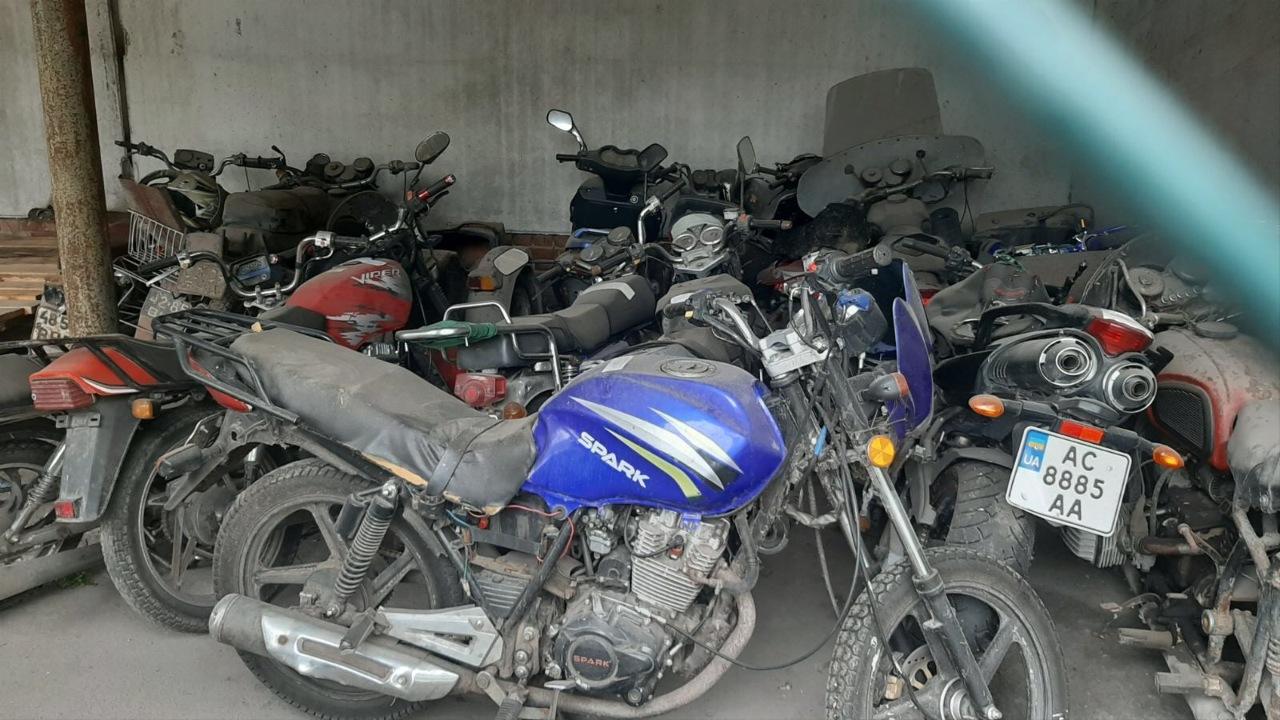 Мотоцикл марки Spark, модель SP 1200R-251, 2018 року випуску, реєстраційний номер АС1138АВ, VIN/шассі-LZEPCML02J4004345