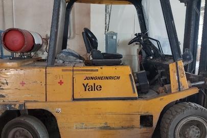 """Автонавантажувач газовий """"YALE TFG 40"""", 1993 р. в., РНЗ відсутній, б/в -1 шт."""