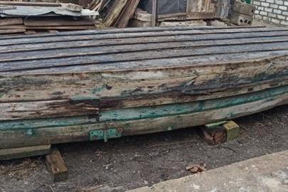 Дерев'яний човен, 1 од., б/в