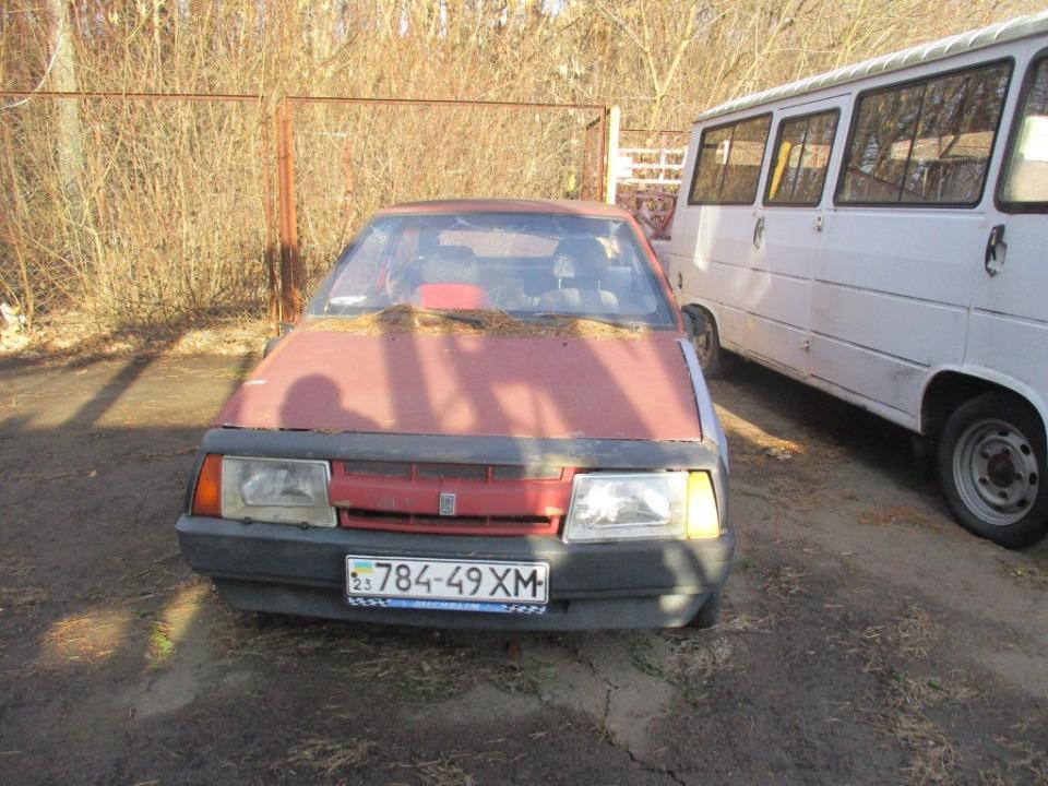 Автомобіль легковий, ВАЗ-2108, 1989 р.в., ДНЗ 78449ХМ, номер кузова: б/н