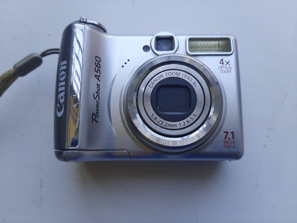 Цифровий фотоапарат Canon Pover Shot A 560, сірого кольору