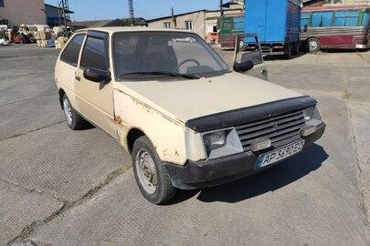 Легковий автомобіль ЗАЗ 1102, ДНЗ АР5690ЕО, 1993 р.в., бежевого кольору, кузов № ХТЕ110206Р0200097