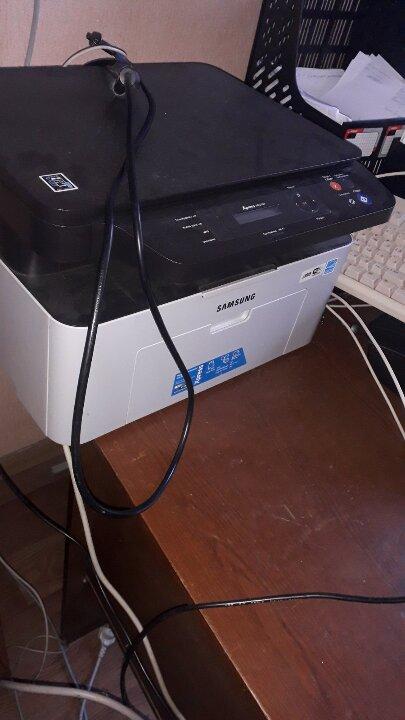 """Багатофункціональний пристрій """"SAMSUNG"""" модель Xpress М2070W, серійний номер 072РВ8КН8В005СМ, сіро-чорного кольору, б/в"""