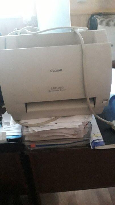 """Принтер """"CANON"""" LBP-810, білого кольору, б/в"""