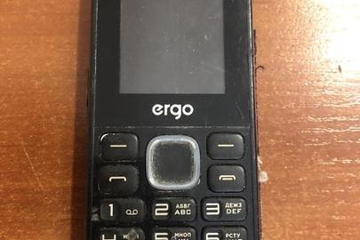 """Мобільний телефон марки """"Ergo», IMEI: відсутній"""