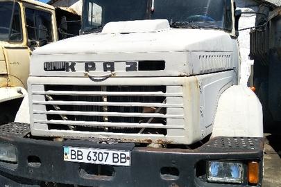Вантажний автомобіль (самоскид): КРАЗ-6510, 1998 р.в., бежевого кольору, ДНЗ: ВВ6307ВВ, VIN: XІC 006510W0788020