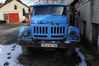 Вантажний автомобіль: ЗИЛ-ММЗ-4502(самоскид), 1992 р.в., синього кольору, ДНЗ: ВВ2107АК, VIN:XTZ450200N3253598