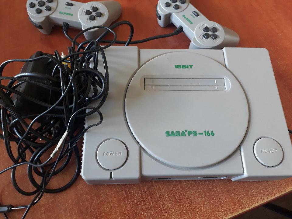 Ігрова приставка Sega PS 166