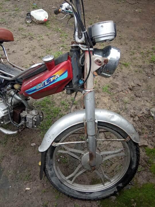 Мопед CHINA MOTO KANUNI DELTA, червоного кольору, рік випуску 2007, номер шасі (рами): LXDXCAL0X79100362, ДНЗ АВАА2744
