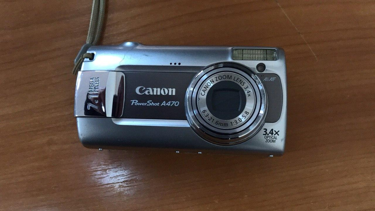 Фотокамера марки «Canon А 470» серійний номер 6335204887, б/в