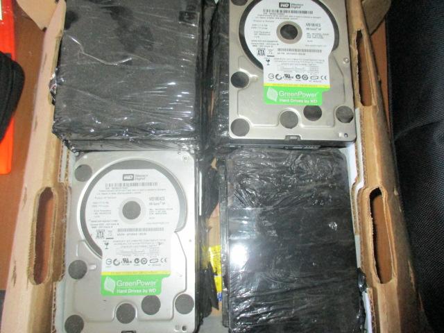 Комп'ютерні жорсткі диски в кількості 19 шт., б/в