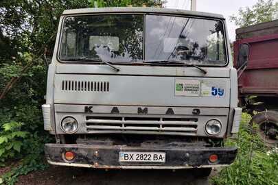 Автомобіль марки КAMAZ, модель 55102, 1986 р.в., номер кузова 5320208832, д.н.з. ВХ2822ВА