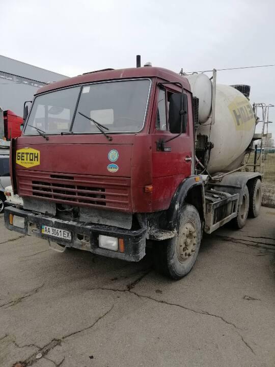 Транспортний засіб: КАМАЗ 53229 69361 вантажний бетонорозмішувач, 2007 р.в., ДНЗ АА3061ЕХ, номер кузова XTC53229R71141866
