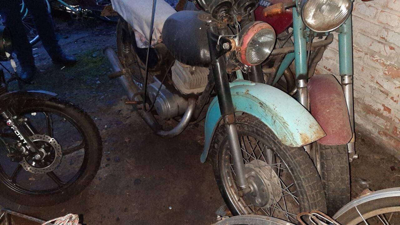 Мотоцикл марки