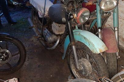 """Мотоцикл марки """"Мінськ"""", синього кольору, ДНЗ:5278ЧНЖ, номер кузову: не встановлено"""