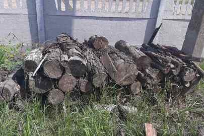 Деревина породи вільха, об'ємом 2,08 м3