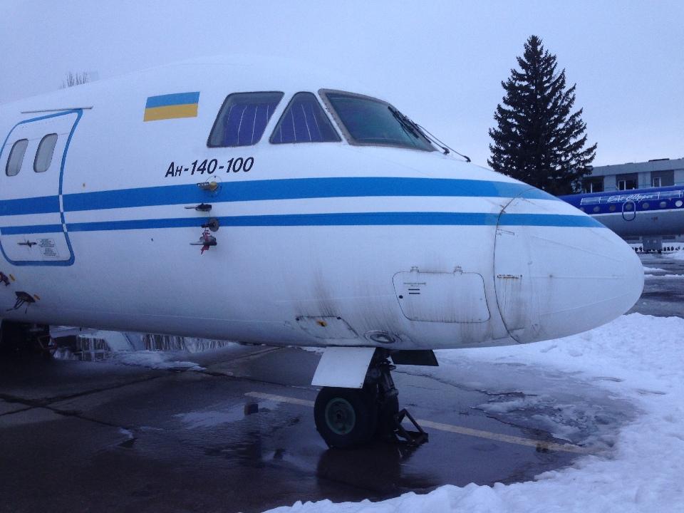 Іпотека. Літак АН-140-100, бортовий номер UR-14007, заводський номер: 36525305029, 2004 року випуску