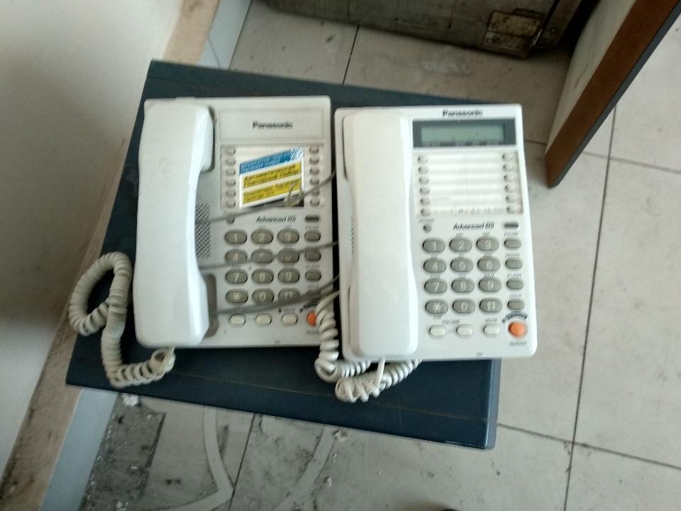Телефонний апарат Panasonic - 5 шт.