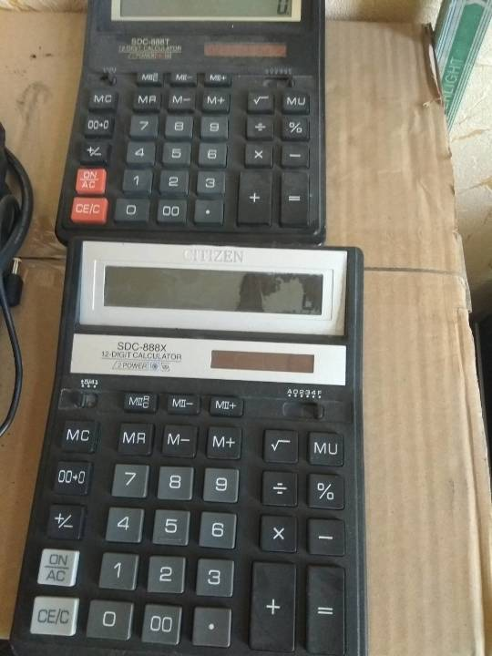 Калькулятор Citizen 12 SDC - 888