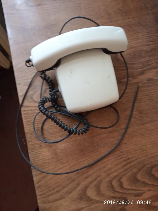 Телефонний апарат Спектр - 3, ТА-21220, № 026734 для внутрішнього користування