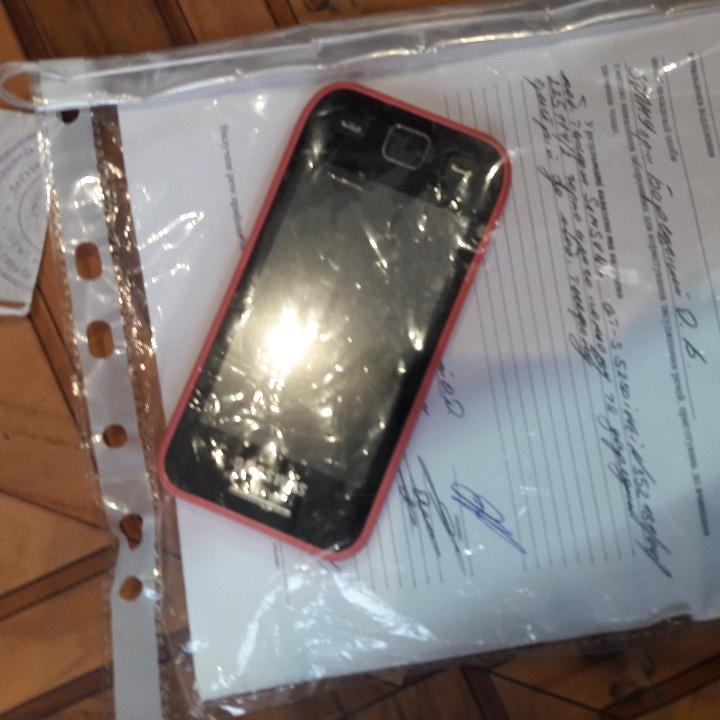 Мобільний телефон Samsung GT-S 5250, imei: 352181/04/225114/2 та зарядний пристрій
