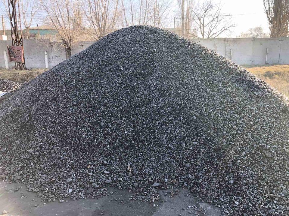 Вугілля (орех дрібний ОМ), розмір 13-50, в кількості 82650 кг