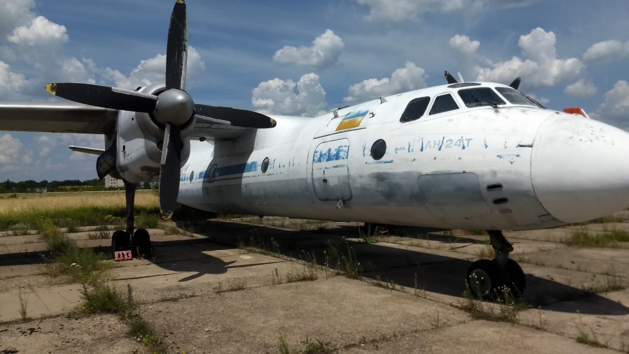 Турбогвинтовий літак АН-24 Т, заводський №8910709, 1968 року випуску