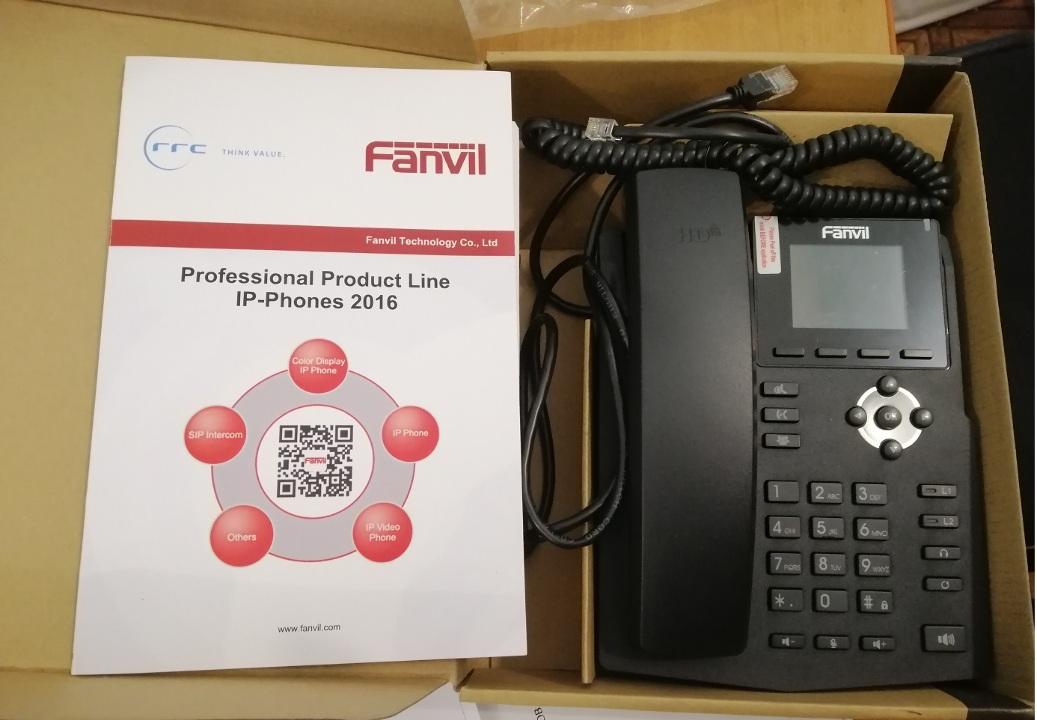 IP телефон FANVILL X3SP 125