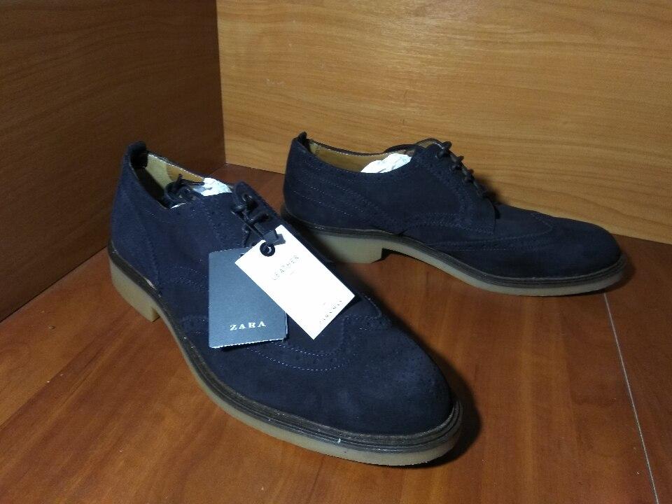 Туфлі чоловічі, іноземного виробництва, 44 розміру, коричневого кольору в кількості 1 пара