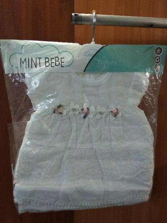 Плаття дитячі з текстильних матеріалів, у кількості 10 шт