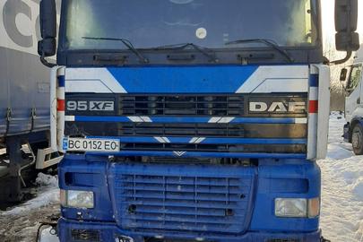 Транспортний засіб DAF 95 XF 430, 2000 року випуску, реєстраційний номер ВС0152ЕО, VIN-XLRTE47XS0E511507