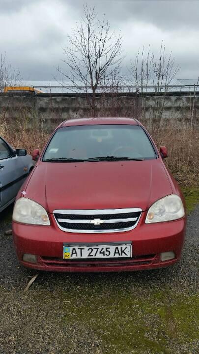 Автомобіль марки CHEVROLET Lacetti, NA, 2006 р.в., ДНЗ: АТ2745АК (номер кузова: KL1NA193E6K370983)