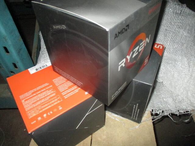 Центральний процесор торгової марки AMD Ryzen 5 3400G - 10 шт., центральний процесор торгової марки AMD Ryzen 5 2600 - 10 шт.