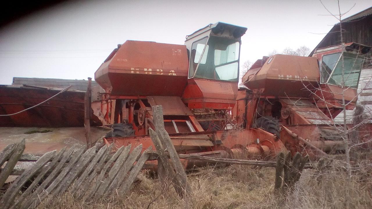 Комбайн зернозбиральний СК-5, 1989 р.в., реєстраційний номер 4653УХ, заводський № 105953