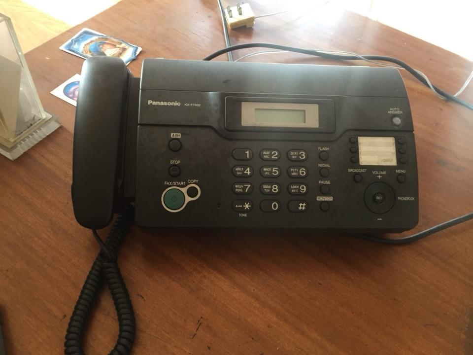 Телефон Panasonic KX-FT932