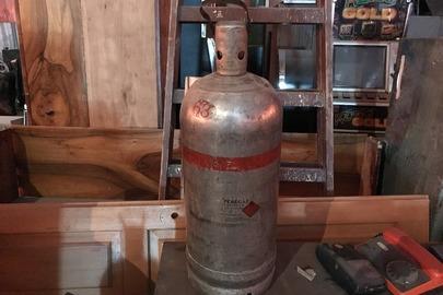Балон металевий для стиснених газів (з демонтованим дном), б/в