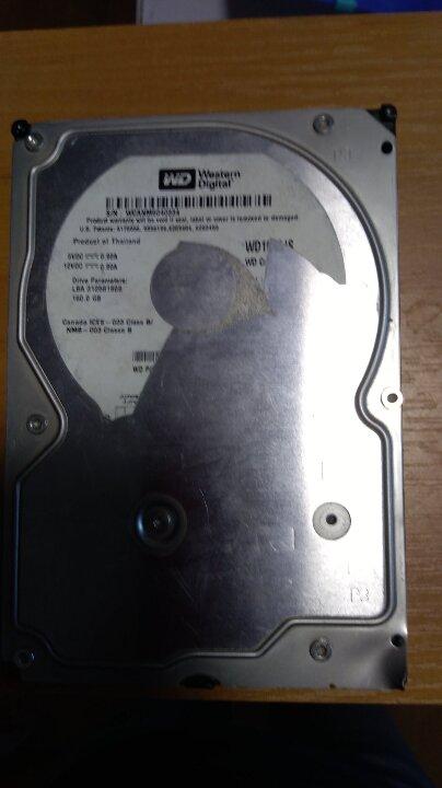 Жорсткий диск до ПК «WD s\n WCANM 6040334»