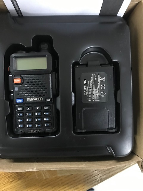 Портативна радіостанція KENWOOD TK-F8 у кількості 2 шт.