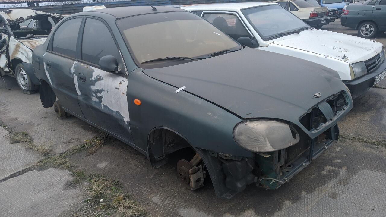 Легковий автомобіль ЗАЗ–DАEWOO T 13110, державний номер АР0831АТ, 2006 року випуску, зеленого кольору, кузов №Y6DT1311060295179
