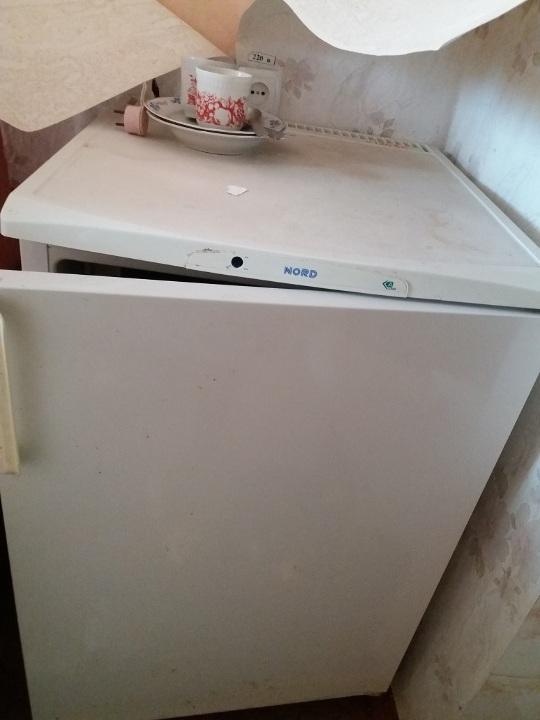 Холодильник NORD-428 білого кольору