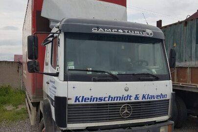 Вантажний фургон MERCEDES-BENZ 1120, ДНЗ ВІ1065ВВ, білого кольору, 1995 р.в., № шасі: WDB6770151K012648